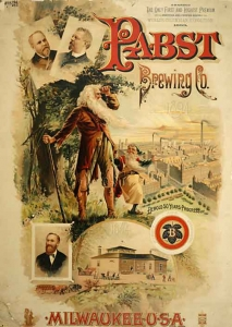 Pabst Ad Poster