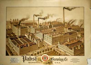 Pabst Factory View