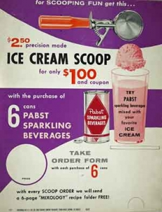 Pabst Ice Cream Beverage