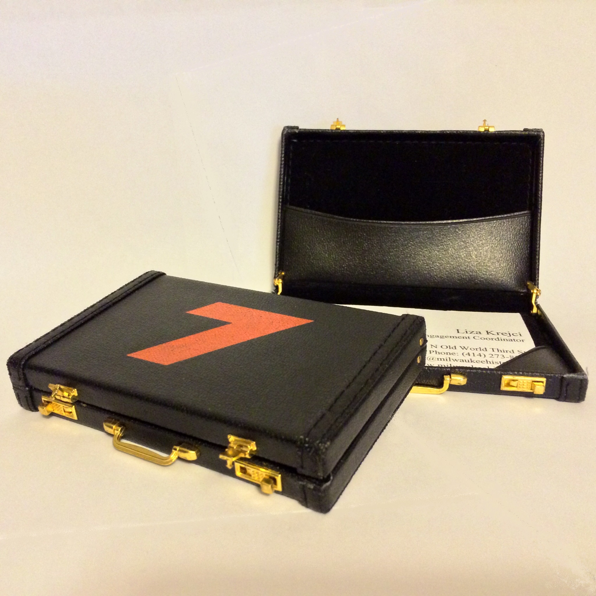 Kulwicki #7 Briefcase Business Card Carrier | Milwaukee County ...